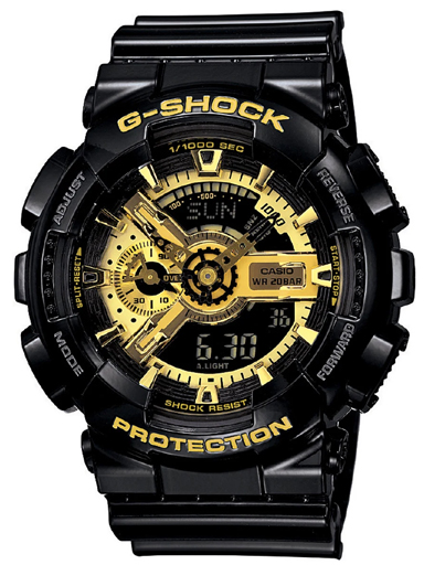 Casio G-Shock Analog-Digital Multi-Color Dial Men's Watch(G339)-G339