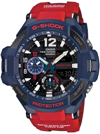 Casio G-Shock GA-1100-2ADR (G597) Gravity Master Men's Watch-G597
