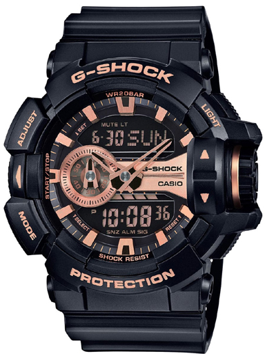 Casio G-Shock GA-400GB-1A4DR (G650) Special Edition Men's Watch-G650