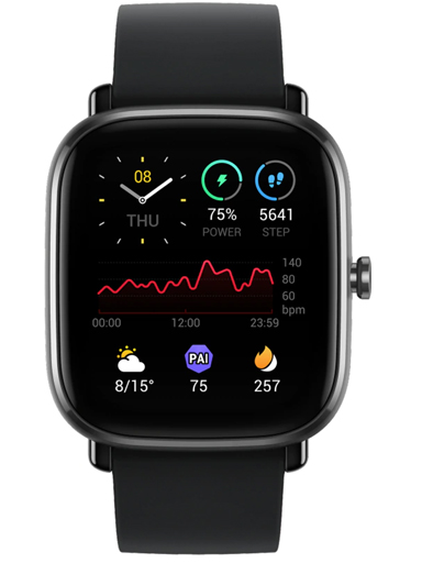 AMAZFIT GTS 2 MINI MIDNIGHT BLACK Watch-AMAZFIT GTS 2 MINI MIDNIGHTBLACK