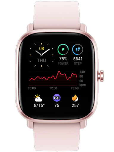 AMAZFIT GTS 2 MINI FLAMINGO PINK SmartWatch-AMAZFIT GTS2 MINI FLAMINGO PINK