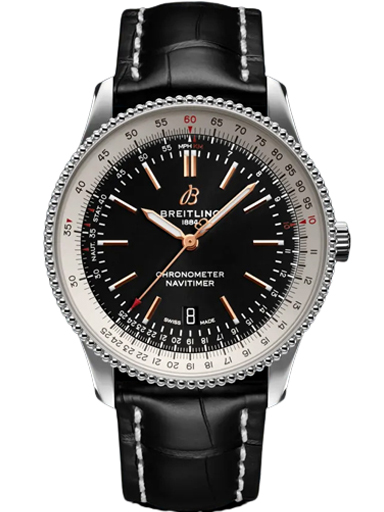 Breitling NAVITIMER AUTOMATIC 41 Stainless Steel - Black Watch-A17326211B1P2