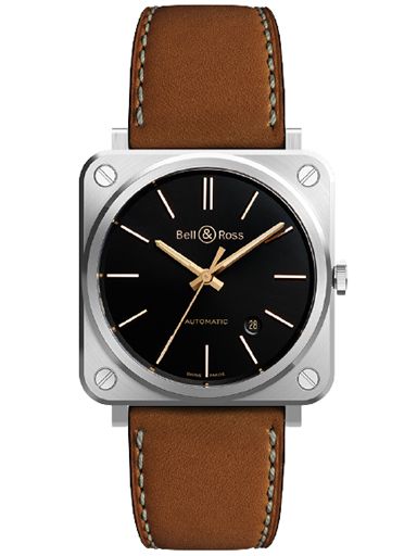 Bell & Rose BR S-92 GOLDEN HERITAGE Watch-BRS92-ST-G-HE/SCA