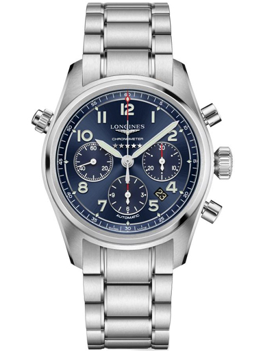 Longines Longines Spirit 42mm Mens Watch-L3.820.4.93.6