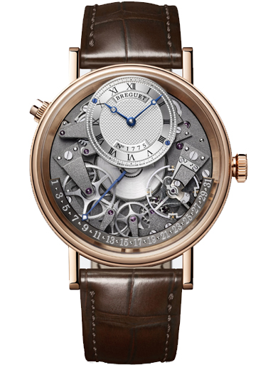 Breguet Tradition Automatic Retrograde Date 40mm Mens Watch-7597BR/G1/9WU