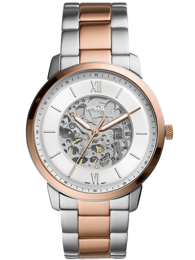 fossil neutra automatic two-tone stainless steel watch-ME3196I