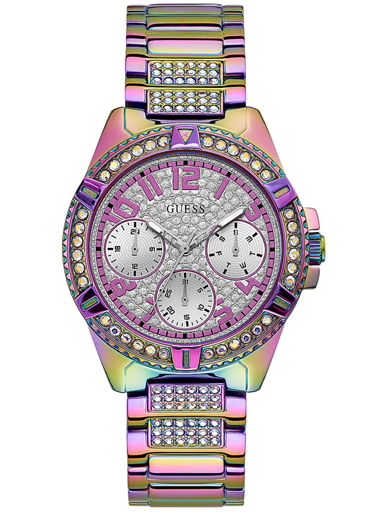 womens multi color stainless steel analogue watch-GW0044L1