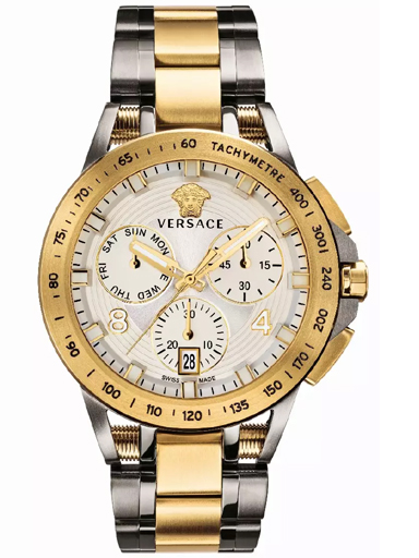 Versace VERB00718 White Dial Watch for Men-VERB00718