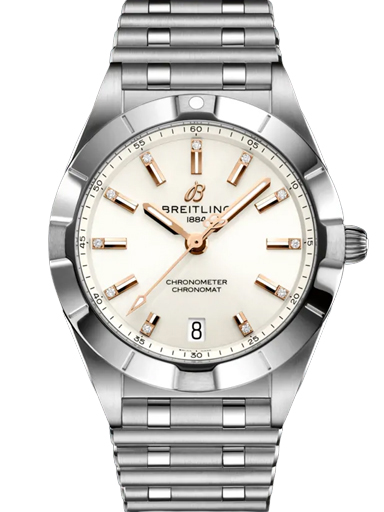 Breitling Chronomat Quartz 32 Stainless Steel - White Dial Watch-A77310101A3A1