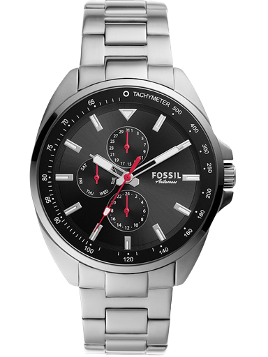 Fossil Autocross Multifunction Stainless Steel Watch-BQ2550I