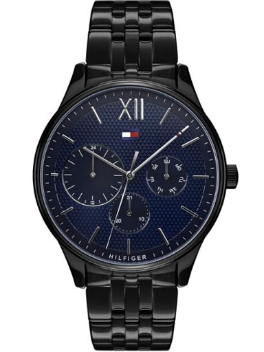 Tommy Hilfiger Blue Dial Stainless Steel Strap Watch-TH1791454W