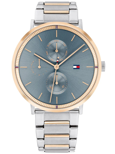 tommy hilfiger blue dial multifunction watch-TH1782298W