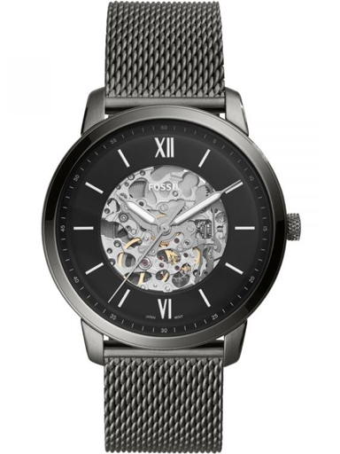Fossil Neutra Automatic Smoke Stainless Steel Watch-ME3185I