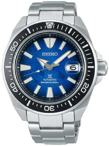 Seiko Prospex Stainless Steel Blue Dial Watch-SRPE33K1
