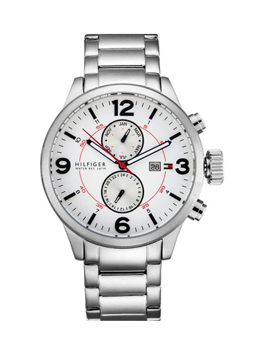Tommy Hilfiger Brady White Dial Watch-TH1790891/D