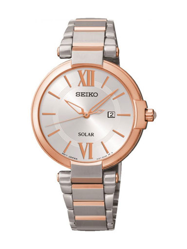 Seiko Dress Solar Women's Watch SUT156P1-SUT156P1