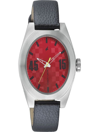 fastrack checkmatewatch for men-3110SL02