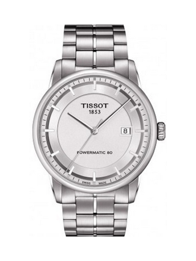 Tissot Luxury Automatic Silver Dial Men's Watch-T0864071103100