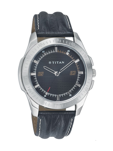 Titan Youth Analog Black Dial Men's Watch-NE1587SL02