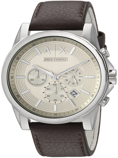 a/x outer banks taupe dial men's chronowatch-AX2506