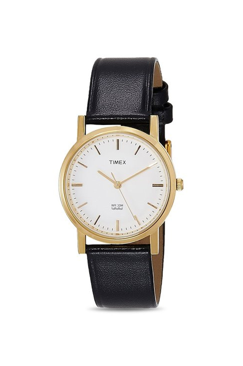 Timex Classic Analog White Dial Women's Watch-B300