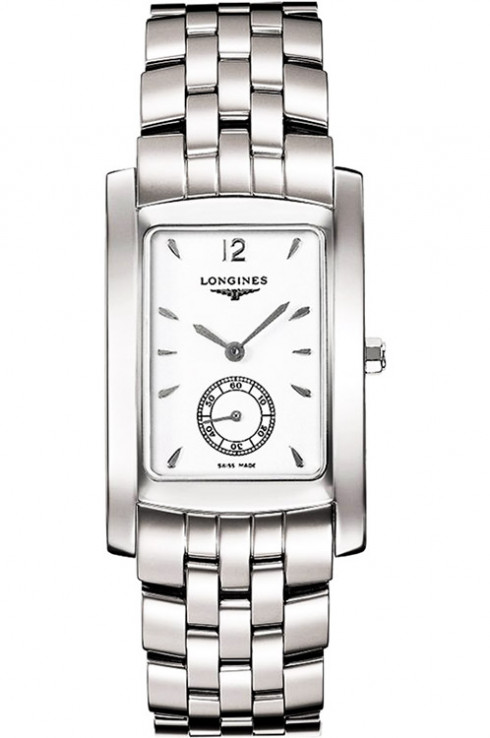 longines dolce vita white dial stainless steel ladies watch l56554166-L5.655.4.16.6