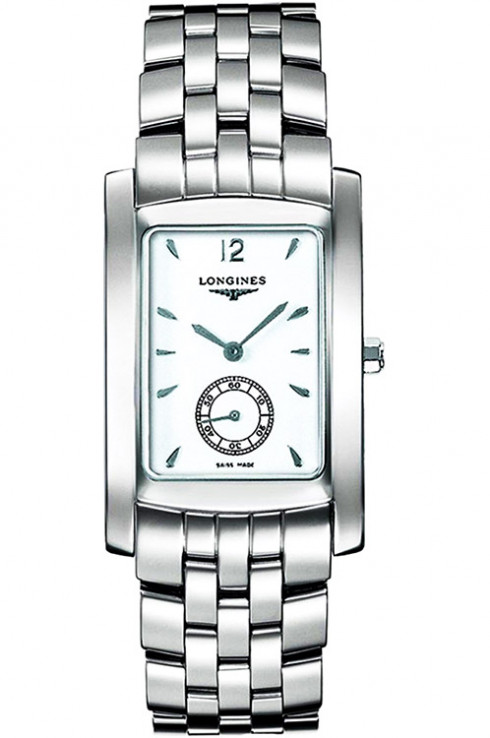 longines dolce vita white dial stainless steel ladies watch l51554166-L5.155.4.16.6