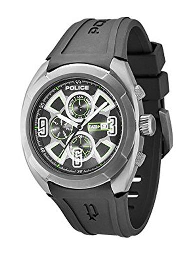 Police Analogues Multi-Color Dial Men's Watch-PL13594JSU02J