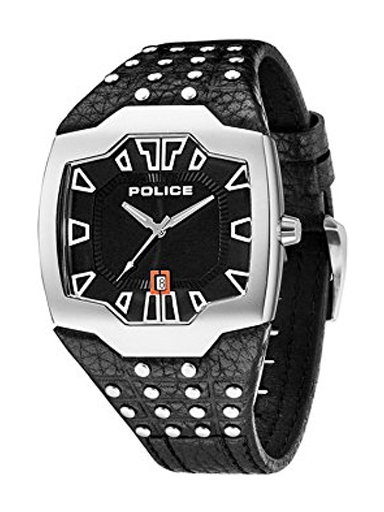 Police Analogs Black Dial Men's Watch-PL13634JS02J