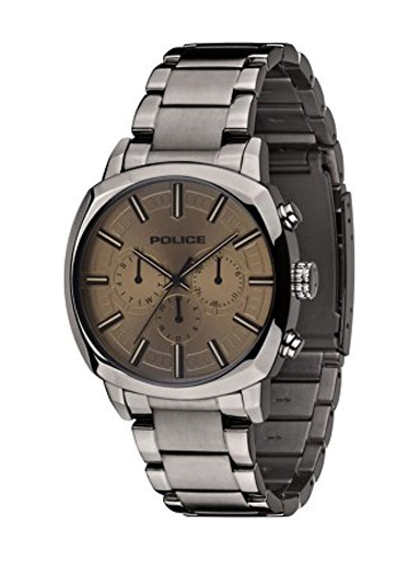 Police Analogue Brown Dial Men's Watch-PL13151JSU61MJ