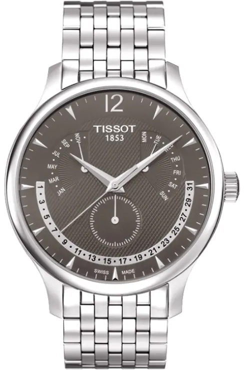 Tissot T-Classic Tradition Anthracite Dial Men's Watch-T0636371106700