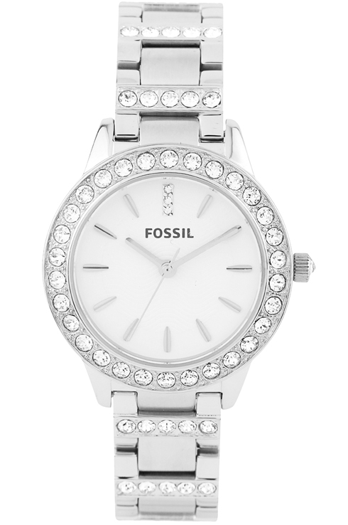 Fossil Women's Stainless Steel Silver Dial Watch-ES2362i