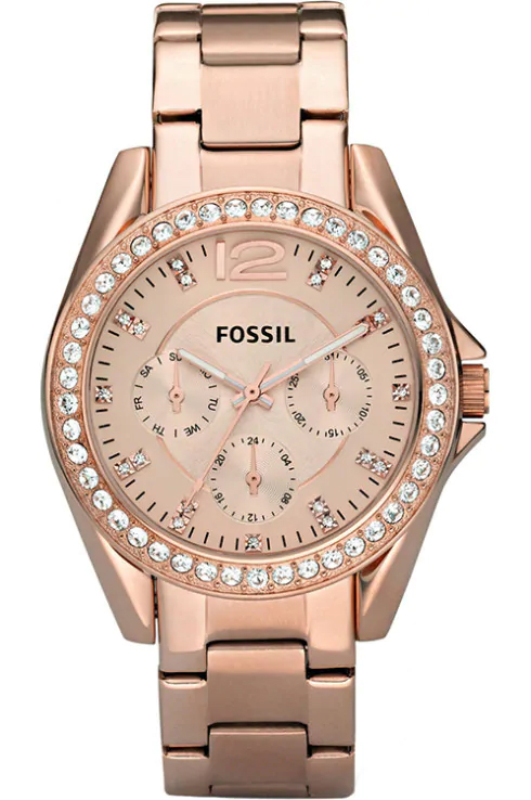 Fossil  Rosegold Gem Dial Women's Watch-ES2811I