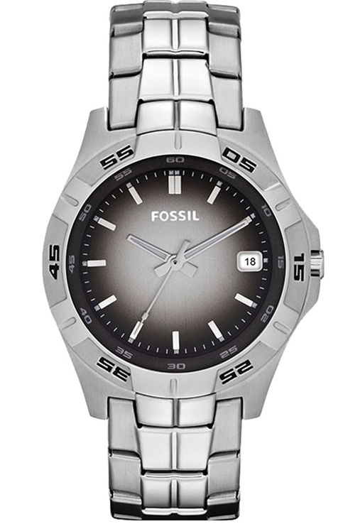 Fossil Retrograde Analog Brown Dial Men's Watch-AM4381