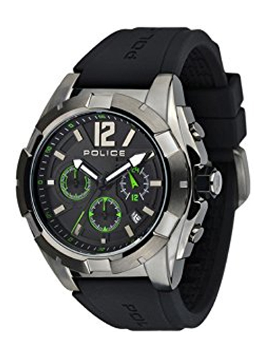 Police Analog Black Watch-PL13696JSU02J