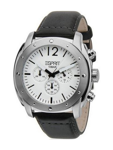 esprit chronograph white dial men's watch-ES106391002-N