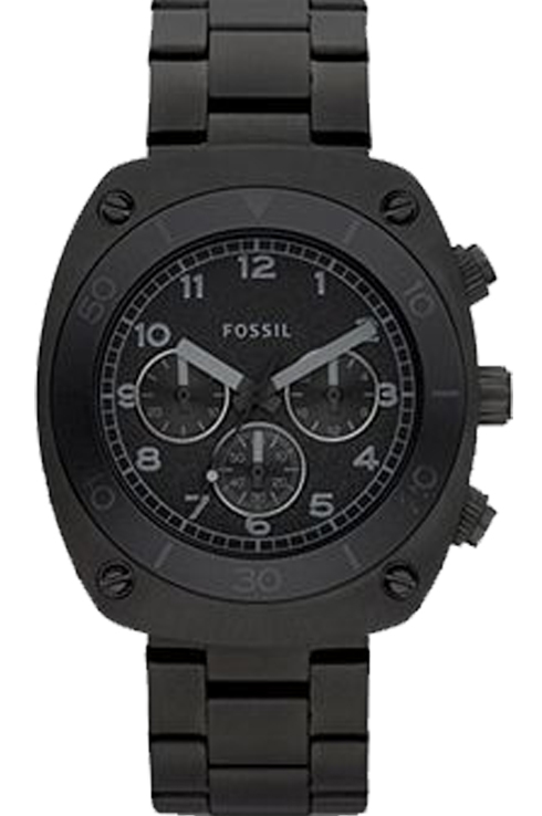 Fossil Men's Casual Black Dial Watch-CH2777
