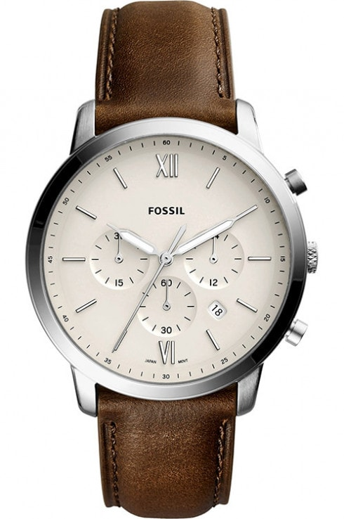 Fossil Neutra Analog Leather Men's Watch-FS5380I