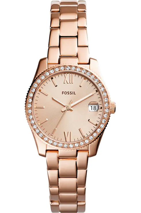 Fossil Rose Gold Ladies Watch-ES4318I