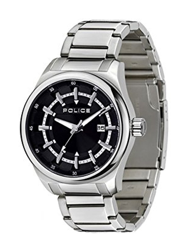 Polices Analog Black Dial Men's Watch-PL13413JS02MJ