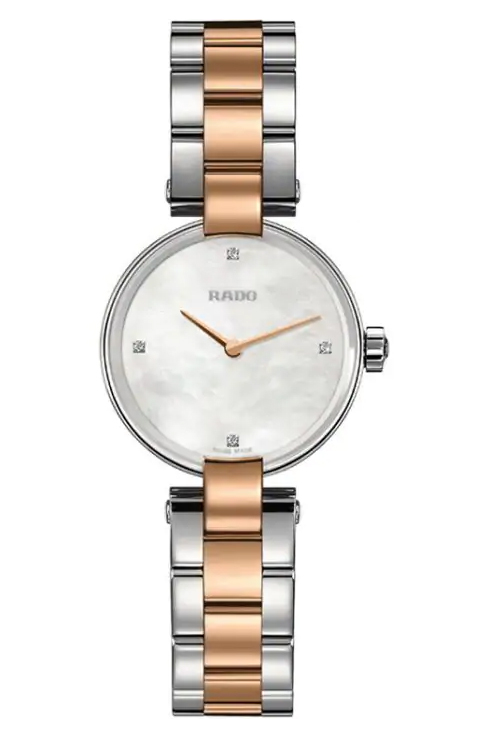 Rado Coupole Diamonds Women Quartz Watch-R22854913