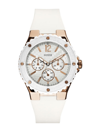 Guess Ladies Sport OVERDRIVE White Watch-W10614L2