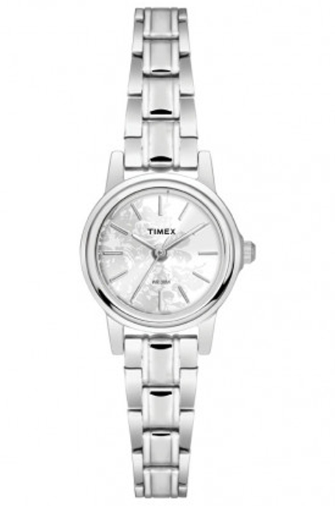 Timex TW000CS16 Silver Dial Women's Watch-TW000CS16