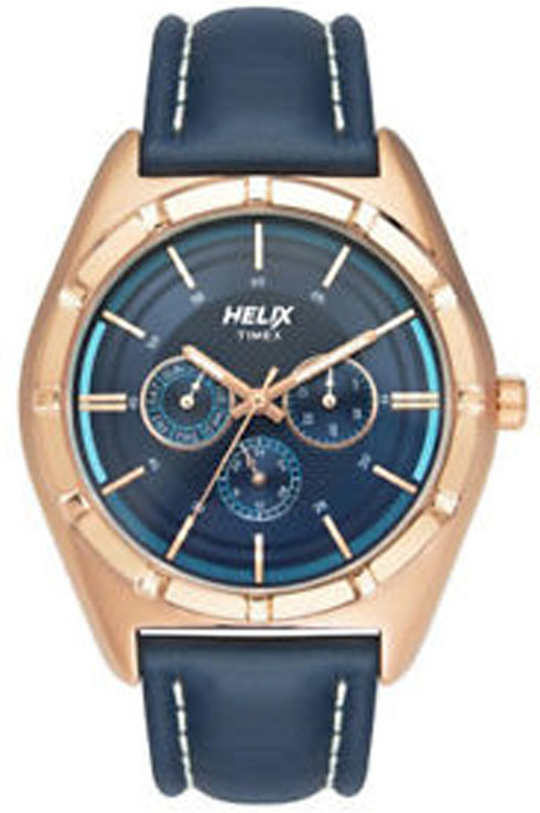 helix tw029hg04 blue dial men's watch-TW029HG04