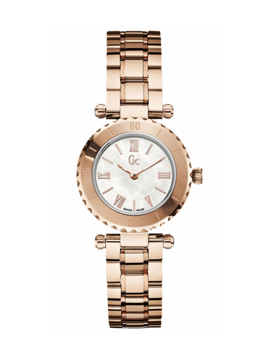 Gc Mini Chic Ladies Mother of Pearl Dial Watch - 0L1S-X70020L1S