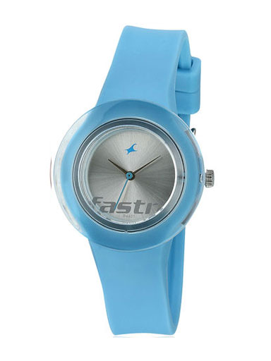 Fastrack Blue Analog Watch-NE789PP02