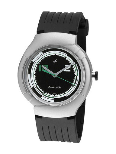 Fastrack Black Analog Men's Watch-NE748PP03