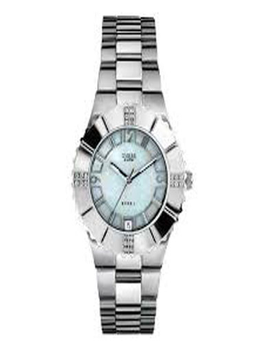 Guess G Linkadies Watch with Crystals-I90192L1