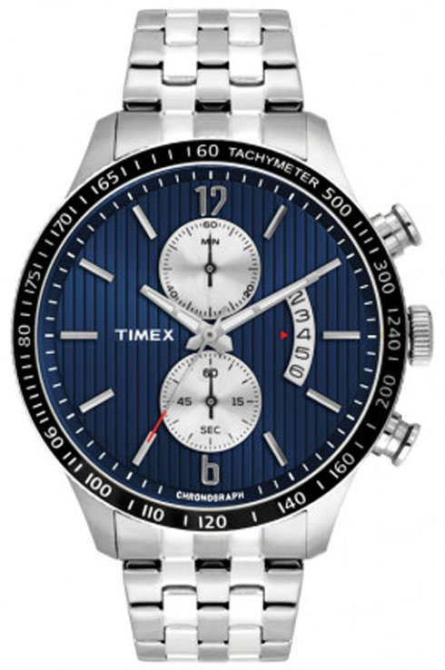 Timex E-Class TWEG14904 Blue Dial Men's Watch-TWEG14904