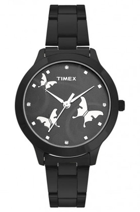 Timex Fashion Black Dial Women Watch TW000T609-TW000T609